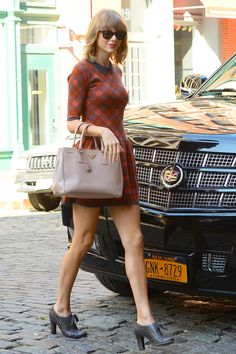Another day, another perfect outfit for Taylor Swift.