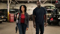 "The Netflix Original Series ""Marvel's Luke Cage"" returns for a second season in 2018. Take a look at Misty Knight (played by Simone Missick), her extraordinary bionic arm, and her formidable ally Luke Cage (played by Mike Colter)."