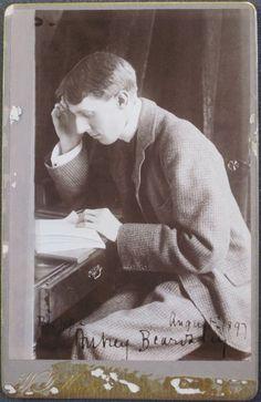 Aubrey Beardsley, August 1897 photographed by W.J. Hawker: Artist Portraits