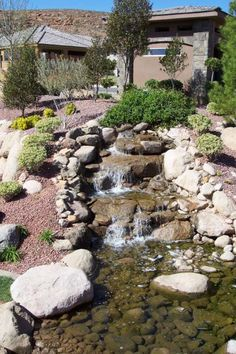 How to build a pondless water feature pictures to pin on pinterest - Landscape Deign Water Runoff Water Feature 2856x2142 Jts