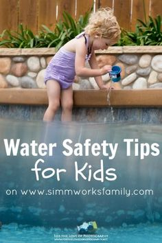 Water Safety Tips For Kids with Gymboree - Danielle Simmons - Photo Water Safety, Baby Safety, Safety Tips, Child Safety, Safety Week, Craft Activities For Kids, Summer Activities, Family World, Kids Health