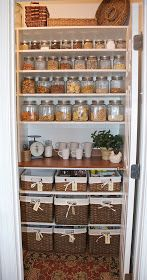 Great looking pantry