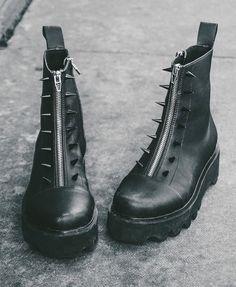 Disturbia - Spike Boots #boots