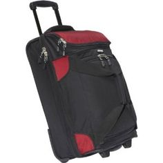 """eBags Mother Lode eTech Mini 21"""" Wheeled Duffel (Red) (Accessory)"""