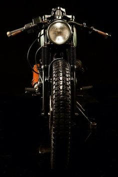 Modified Royal Enfield from Bombay Customs
