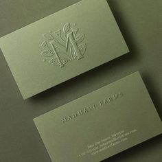 Pallavi Nopany - Sneak peak of wip from 2019 : Redoing the Identity for Madhavi Farms - an organic and aquaponics farm in… Premium Business Cards, Luxury Business Cards, Creative Business Cards, Cute Business Cards, Embossed Business Cards, Business Branding, Business Design, Logo Branding, Restaurant Branding