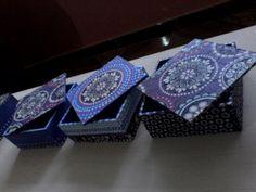 Cajas tipo cofre decoradas mandalas