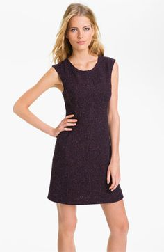 Theory 'Franita T.' Tweed Sheath Dress
