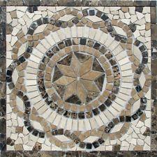 Antikmarmor Rosone 30x30 Windrose Mosaik Fliesen Naturstein Rosso Verona 062 NEU