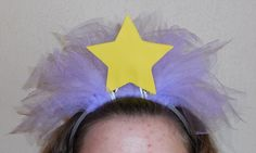 DIY Lumpy Space Princess Headband - LSP Adventure Time Cosplay Halloween Costume