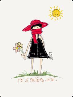 Moi je préfère l'été