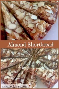 Almond Shortbread: ingredients, directions, and special baking tips from The Elf for making Almond Shortbread. Almond Shortbread Cookies, Shortbread Recipes, Cookie Recipes, Baking Tips, Cookie Bars, No Bake Desserts, Christmas Baking, Yummy Yummy, Cookies