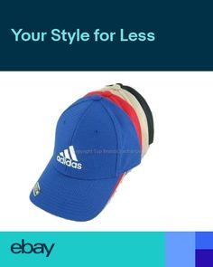 f687c655 Mens Adidas Stretch Fit Cap Flex Fit Hat Baseball Basketball Black Navy  Grey Red