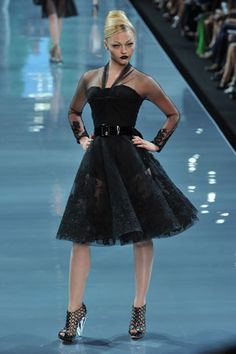 Christian Dior Fall 2008 Couture Fashion Show - Michaela Kocianova