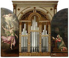 Basiliek Santa Barbara in Mantua - Orgel  Graziadio Antegnati 1565