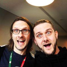 Steven Wilson - With @marivsz_riv from Riverside / Lunatic Soul in Kraków