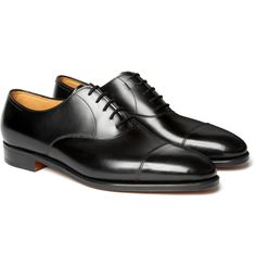 John Lobb City II Leather Oxford Shoes | MR PORTER