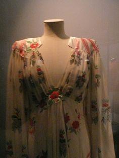 Ossie Clark dress, 1970s