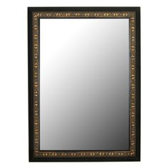 Have to have it. Second Look Mirrors Mumbai Copper Gold Black Surround Wall Mirror - $178.99 @hayneedle