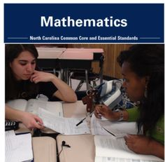 "Outstanding free math CCSS resources from the NC Dept of Public Instruction, including the ""unpacking"" documents for that explain exactly what students need to be able to do for each standard, a unit and some CC aligned lessons! Math Teacher, Math Classroom, Teaching Math, Kindergarten Math, Classroom Ideas, Math Strategies, Math Resources, Fifth Grade Math, Math Workshop"
