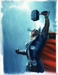 Thor  by mike mayhew