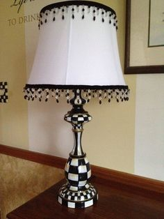 Hand Painted Lamp by paintingbymichele on Etsy, $99.00