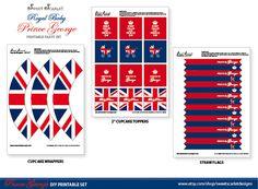 Royal Baby Prince George Printable Set
