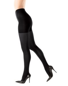 0a749d5f92d59 SPANX Bodyshaping Tight-End Tights 128 - Size C(Black)  Look fabulous and  feel firmer. These opaque tights feature all-over body shaping with extra  tummy ...