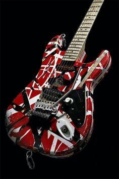Guitar Art, Music Guitar, Cool Guitar, Playing Guitar, Guitar Drawing, Guitar Tattoo, Eddie Van Halen, Gretsch, Fender Stratocaster