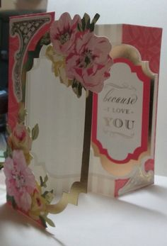 Anna Griffin Fantastic Flips card by Tom Gingras; card shown on Anna Griffin FB page