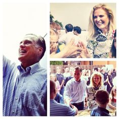 Mitt and Ann greeting supporters in Ohio.