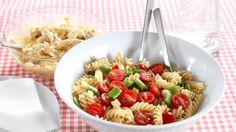 Karrikylling med pastasalat