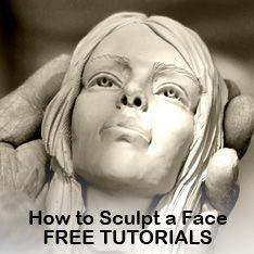 You Can Learn How to Sculpt a Face in Polymer Clay!                                                                                                                                                     More
