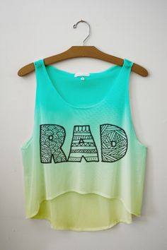 Fresh-Tops Rad Shirt Ideas of Rad Shirt I need a top - Rad Shirt - Ideas of Rad Shirt - Fresh-Tops Rad Shirt Ideas of Rad Shirt I need a top like this for summer. Outfits For Teens, Cool Outfits, Fresh Tops, Teen Fashion, Fashion Outfits, Diy Clothes Refashion, Crop Top Outfits, Cute Crop Tops, Tumblr Outfits