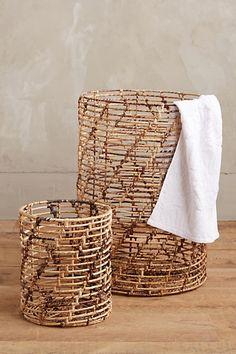 Helix Weave Baskets - anthropologie.com