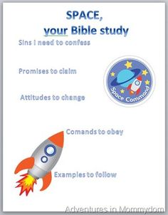 SPACE-an acronym for Sins, Promises, Attitudes, Commands, Examples