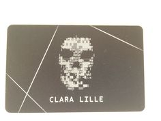 Watch Dogs DedSec Edition Clara Lille card.