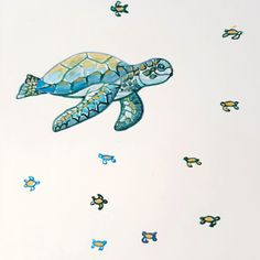 Turtle watercolour and ink original painting / printed for you on A4 250gsm matte paper / order by DM or visit my Etsy shop                   #turtle #seaturtle #artprintsforsale #etsyseller #illustrationoftheday #watercolourart #inkartwork #kidsroomartwork #kidswallartdecor #wallart #nurserydecor #babyroomdecor #homedecorideas #bohonursery #puddingandpickles Art Prints For Home, Kids Prints, Prints For Sale, Artwork Prints, Ink Painting, Painting Prints, Original Artwork, Original Paintings, Ink Illustrations