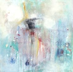 "Saatchi Art Artist Christy Nimeh; Painting, ""Abstract Summer Sorbet"" #art (Lisa Woolf)"