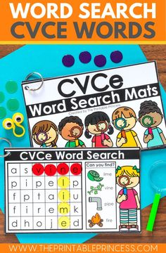 CVCe Worksheets can get boring, here's some fun low-prep CVCe activities that will keep your students engaged as they learn to read and recognize CVCe words. Easy to prep.