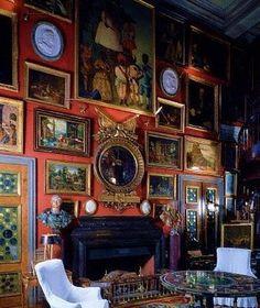 Gallery. Chateau de Groussay