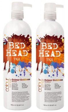 Favorite Shampoo/conditioner!  TIGI Bed Head Colour Goddess!
