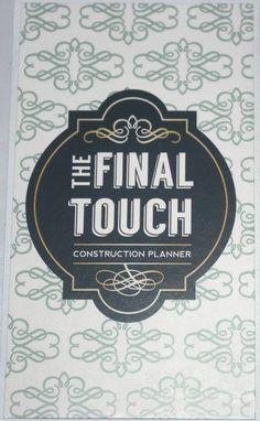 Final Touch logo by AdamsRib Design Corporate Identity Design, Touch, Logos, Logo