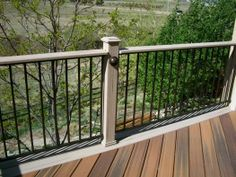 Composite with Fortress Panel Railing
