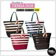 ¡Divinos estos bolsos! ¿En qué color te gusta más?  Comprá el tuyo➜www.tiendadcm.com/products/list/brand/20730