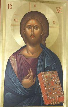 Byzantine Art, Byzantine Icons, Christ Pantocrator, Faith In Love, Religious Icons, Lutheran, Orthodox Icons, Spas, Jesus Christ