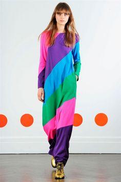 New York Fashion week F/W 2015-2016 Lisa Perry #silkgiftmilan #catwalk #fashion #personalstylist #imageconsultant #trend