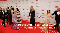 44. Deutscher Filmball 2017:  Red Carpet Teil 2 am 21.01.2017