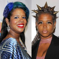 Her milkshake may bring all the boys to the yard, but these hairstyles on Kelis most certainly do not.