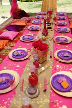 An Arabian Nights themed party with a beautiful Moroccan feel